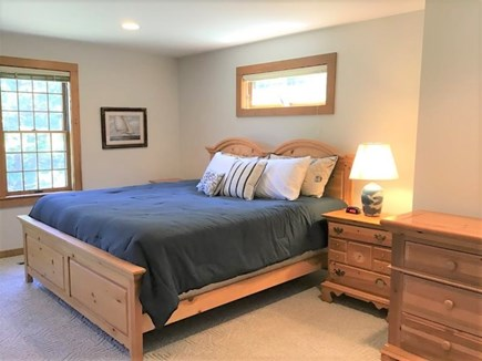 Orleans Cape Cod vacation rental - Main Level Primary Bedroom w/King Bed & Ensuite