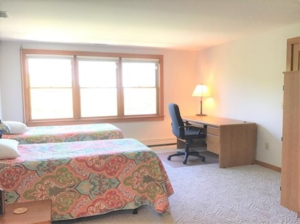 Orleans Cape Cod vacation rental - Upper Level Bedroom with 4 Single Beds and Ensuite