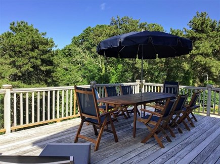 Orleans Cape Cod vacation rental - Large Deck