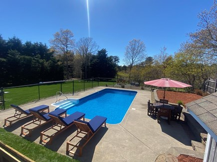 Brewster Cape Cod vacation rental - Pool and Lounge area