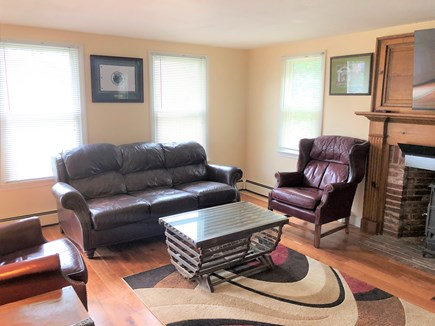Brewster Cape Cod vacation rental - Living Room with Huge Flatscreen TV