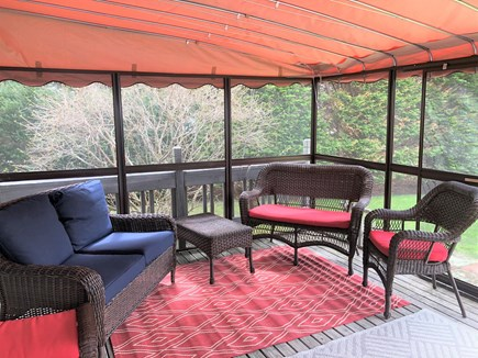 Brewster Cape Cod vacation rental - Screened Porch