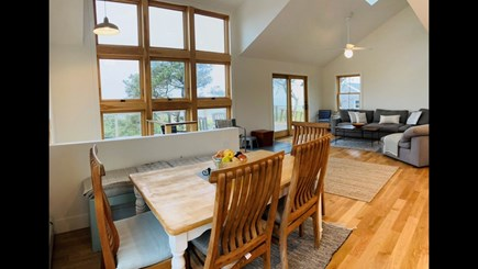 Truro Cape Cod vacation rental - Dining Area and Second Living Area