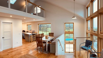 Truro Cape Cod vacation rental - Top of the stairs