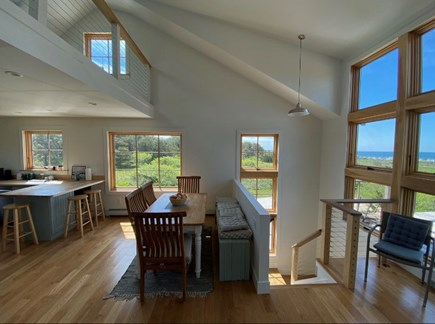 Truro Cape Cod vacation rental - View from Dining Area