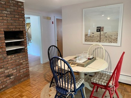 Falmouth-East Falmouth Cape Cod vacation rental - Kitchen Dining Area-Seats 4