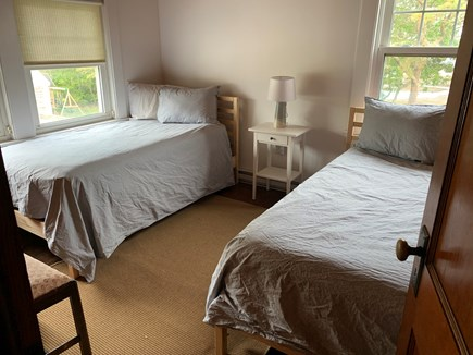 Yarmouth Cape Cod vacation rental - Two twin bedroom with a view of the beach