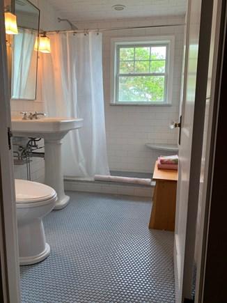 Yarmouth Cape Cod vacation rental - Upstairs bathroom, heated floors, seat in shower, beautiful views