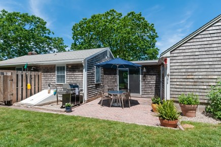 East Sandwich Cape Cod vacation rental - Back patio with seating