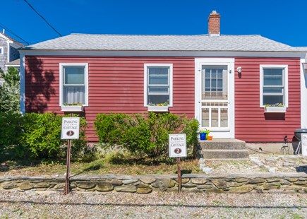 East Sandwich Cape Cod vacation rental - Front view of main building.