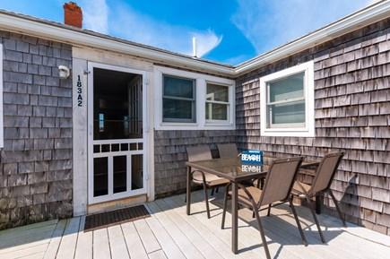 East Sandwich Cape Cod vacation rental - Enter off the private deck.