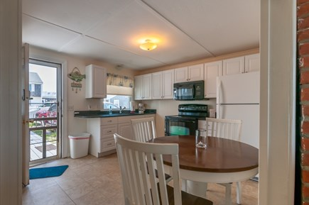 East Sandwich Cape Cod vacation rental - Dining table in Kitchen.