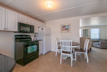 East Sandwich Cape Cod vacation rental - Kitchen opens to Living area