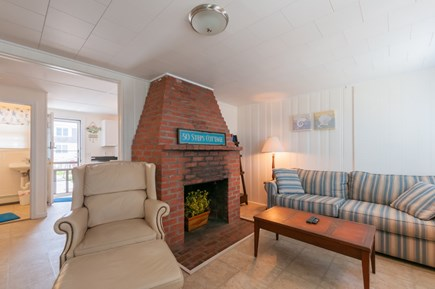 East Sandwich Cape Cod vacation rental - Comfy seating in Living room