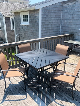Mashpee Cape Cod vacation rental - Private Deck with Patio Seating