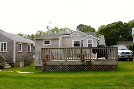Mashpee Cape Cod vacation rental - Yard and Deck