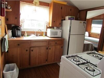 Mashpee Cape Cod vacation rental - Kitchen with Microwave