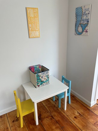 Yarmouth, Bayview Beachside Cape Cod vacation rental - A little nook for the kiddos in the Anchor Room.