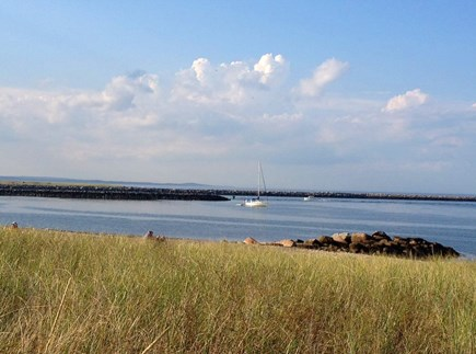 West Falmouth Cape Cod vacation rental - Old Silver Beach just a mile away. Great swimming.