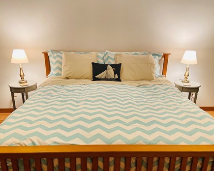 West Falmouth Cape Cod vacation rental - Master Bedroom with King.