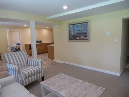Falmouth Cape Cod vacation rental - Living room and Kitchen