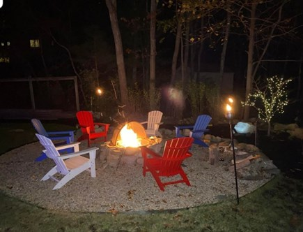 Sandwich Cape Cod vacation rental - Outdoor fire pit