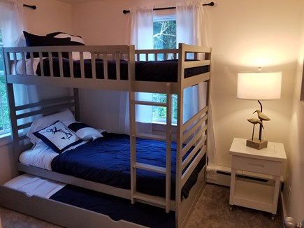 Sandwich Cape Cod vacation rental - Twin bunk beds with trundle