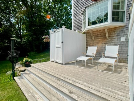 Sandwich Cape Cod vacation rental - Deck with outdoor shower