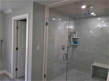 Sandwich Cape Cod vacation rental - Private master bath exquisite shower