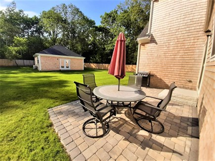 Sandwich Cape Cod vacation rental - HUGE backyard with air conditioned GAME HOUSE!