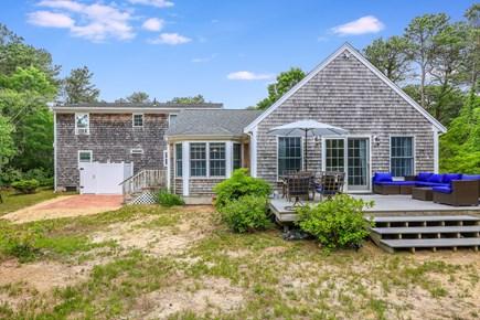Eastham Cape Cod vacation rental - Back outside living area