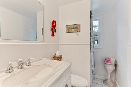 Falmouth Cape Cod vacation rental - One of the bathrooms (first floor)