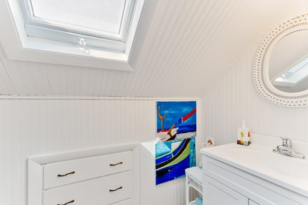 Falmouth Cape Cod vacation rental - Bathroom upstairs