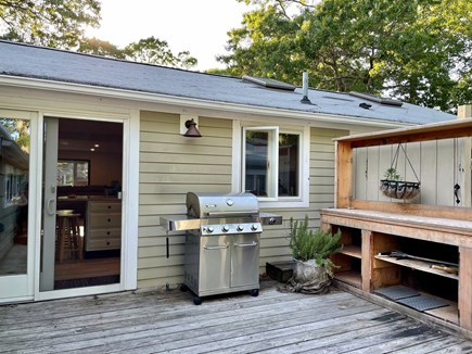 Hyannis Cape Cod vacation rental - Outdoor gas grill