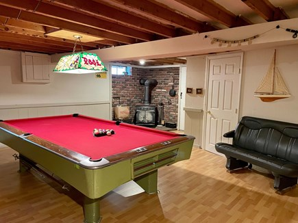 Hyannis Cape Cod vacation rental - Pool table in basement