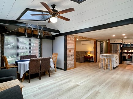 Hyannis Cape Cod vacation rental - Dining and partial view of kitchen and living room