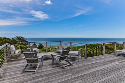 Wellfleet Cape Cod vacation rental - Ocean Views from the Deck