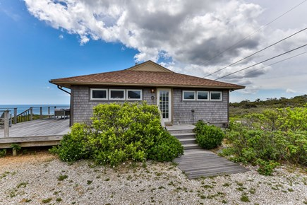 Wellfleet Cape Cod vacation rental - Exterior from Driveway