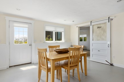 Wellfleet Cape Cod vacation rental - Additional Dining Table on Lower Level