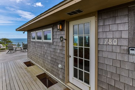 Wellfleet Cape Cod vacation rental - Entrance to House