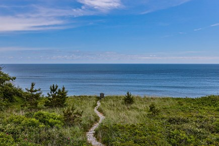 Wellfleet Cape Cod vacation rental - Path to the Dune from House