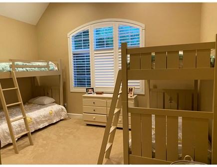 North Falmouth Cape Cod vacation rental - Bunk Room 4 brand new Sleepy's Snug Mattresses