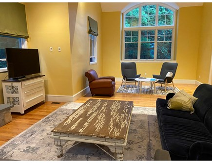 North Falmouth Cape Cod vacation rental - Living room/reading nook