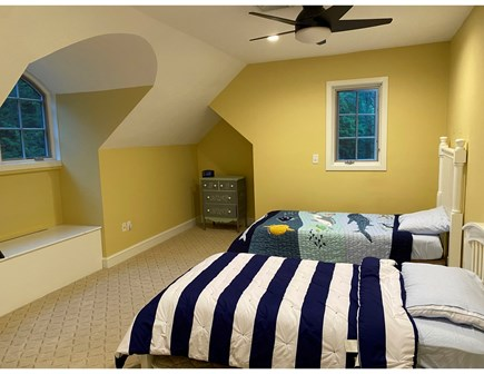 North Falmouth Cape Cod vacation rental - Bedroom with 2 twins and a trundle