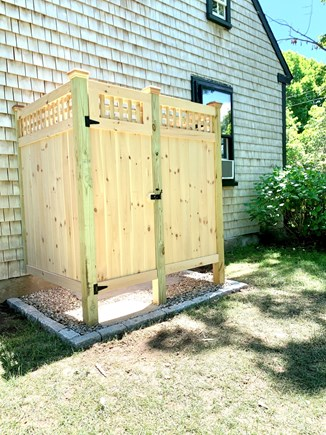 Brewster Cape Cod vacation rental - New outdoor shower