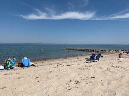 Brewster Cape Cod vacation rental - Saints Landing Beach at high tide - 0.8mi from the house