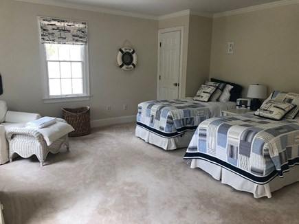 Osterville Cape Cod vacation rental - Spacious twin bedroom decorated in nautical theme