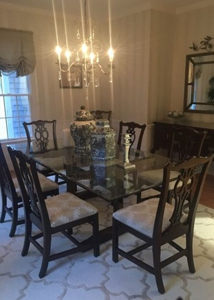Osterville Cape Cod vacation rental - Formal Dining Room with comfortable seating for 8