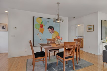 Provincetown Cape Cod vacation rental - Dining room seats 4. Table leafs on site to expand table size