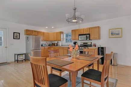 Provincetown Cape Cod vacation rental - Open floor plan. Dining and kitchen